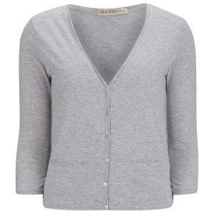 Brave Soul Women's Cardigan - Grey