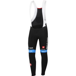 Garmin Sharp Team Replica Thermal Bib Tights - Black