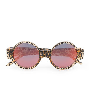 Le Specs Women's Rabbit Hole Cheetah Print Sunglasses - Cheetah