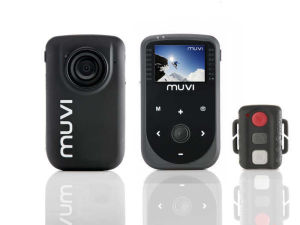 Veho Muvi 1080p HD Mini Camcorder with Wireless Remote - 4GB memory