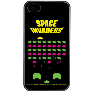 Space Invaders iPhone 4 Cover