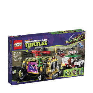 LEGO Ninja Turtles: The Shellraiser Street Chase (79104)