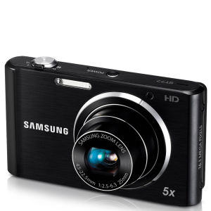 Samsung ST77 Compact Digital Camera (16MP, 5x Optical, 2.7Inch LCD) - Black