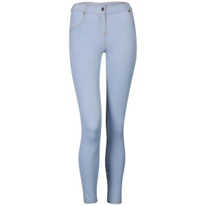 Influence Women's Zip Jeggings - Light Wash
