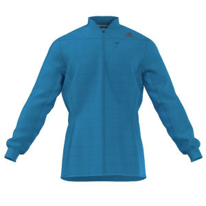 Adidas Men's Super Nova Running Jacket - Solar Blue
