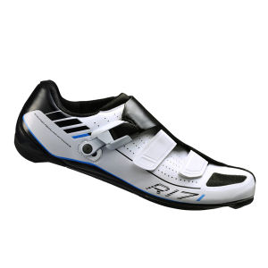 Shimano R171 Carbon Road Cycling Shoes - White