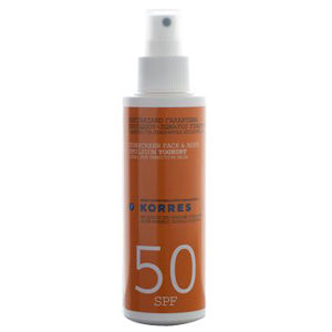 Korres Yoghurt Face & Body Sunscreen Emulsion SPF50 150ml