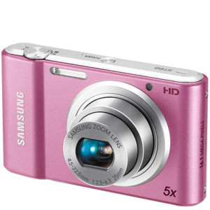 Samsung ST68 Compact Digital Camera (16MP, 5x Optical, 2.7 Inch LCD) - Pink