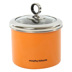 Morphy Richards Accents Small Storage Canister - Orange
