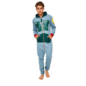 Star Wars Men's Boba Fett Adult Jumpsuit - Assorted