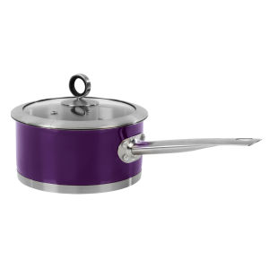 Morphy Richards Accents 16cm Saucepan - Plum