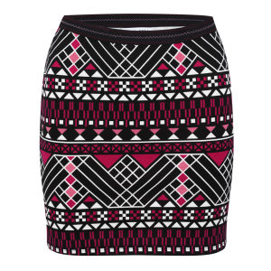 Vero Moda Women's Masai Will Short Skirt - Red