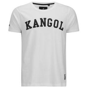 Kangol Men's Study Printed T-Shirt - White