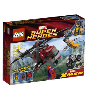 LEGO Super Heroes: Wolverine's Chopper Showdown (6866)