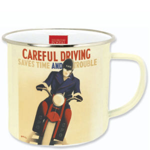 Postal Archive Enamel mug - Careful driving