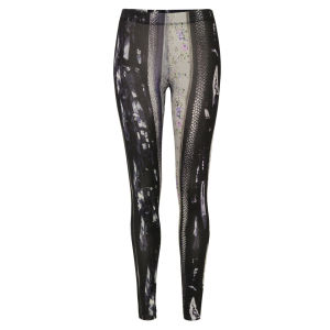 MM6 Maison Martin Margiela Women's S32KA0271 S21505 Archive Print Leggings - Multi