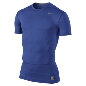 Nike Men's Core Compression Short Sleeve Top 2.0 - Game Royal Blue