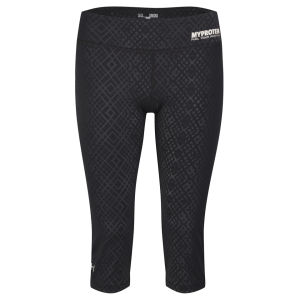 Under Armour® naisten Heatgear caprit - Musta