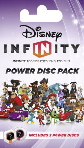 Disney Infinity 2.0 Power Discs Pack - Disney