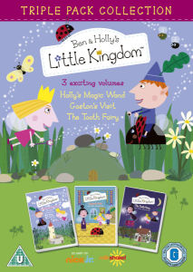 Ben and Hollys Little Kingdom (Hollys Magic Wand / Gastons Visit / The Tooth Fairy)