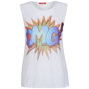 Influence Women's OMG Vest- White