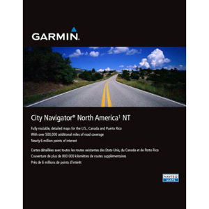 Garmin North America City Navigator NT MicroSD card