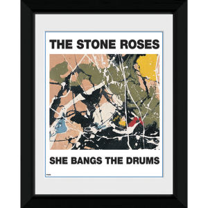 The Stone Roses She Bangs The Drums - 20 x 15cm Fotorgrafía Enmarcada