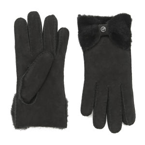 UGG Women's Classic Bow Gloves - Black