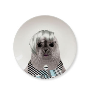 Wild Dining Seal Cub - Ceramic Side Plate