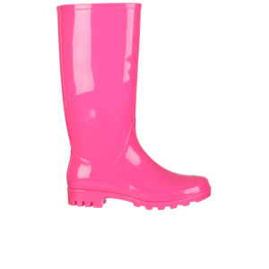 Fame & Fortune Women's Jade Neon Welly - Neon Pink