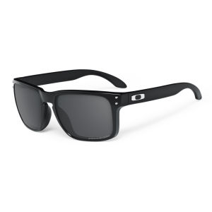 Oakley Men's Holbrook Polished Polarized Sunglasses - Black