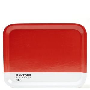 Pantone Universe Medium Tray - Warm Red 180