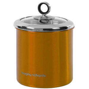 Morphy Richards Accents Large Storage Canister - Copper