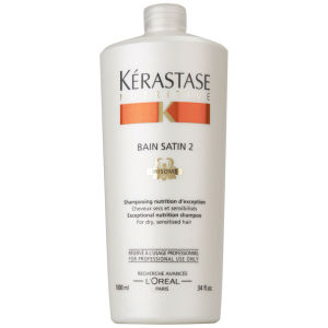 Kerastase Nutritive Bain Satin 2 Irisome 1000ml (with Pump)