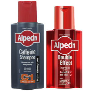 Alpecin Double Effect and Caffeine Shampoo Duo