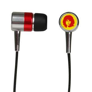 Section 8 Flames Earphones in Tribute Packaging