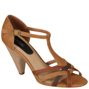 Stylist Pick 'Cailin' Women's Ankle Strap Heel - Tan