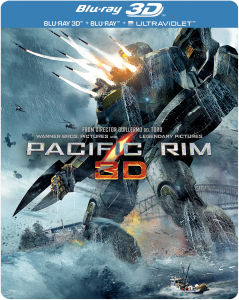 Pacific Rim 3D - Limited Edition Steelbook (Includes 2D Version and UltraViolet Copy)