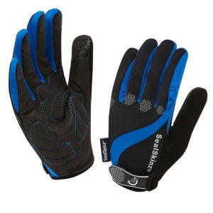 SealSkinz Summer Cycle Gloves - Black/Blue