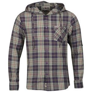Fly Guy Men's Twenty Two Long Sleeved Hooded Shirt - Purple