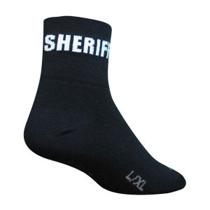 SockGuy Sheriff Cycling Socks