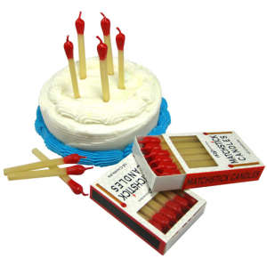 Matchstick Party Candles