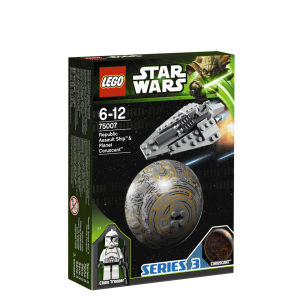 LEGO Star Wars: Republic Assault Ship & Planet Coruscant (75007)