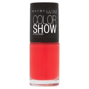 Maybelline New York Color Show Nail Lacquer - 110 Urban Coral 7ml