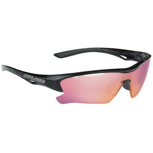 Salice 011 RW Radium Sports Sunglasses - Mirror - Black/RW Radium