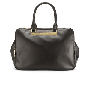 Marc by Marc Jacobs Goodbye Columbus Leather Zip Multi Compartment Tote Bag - Black