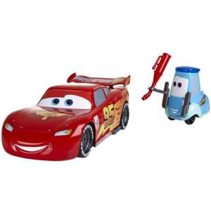 Cars 2: Gas Up and Go Guido / Lightning McQueen Playset