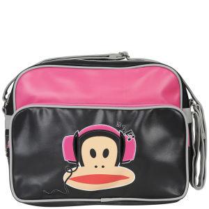 Paul Frank Headphones Messenger Bag - Fuschia/Black