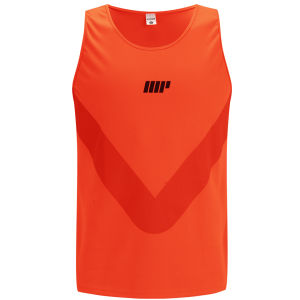 Myprotein Running Vest Herrar - Orange