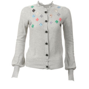 nümph Womens Melody Cardigan - Grey